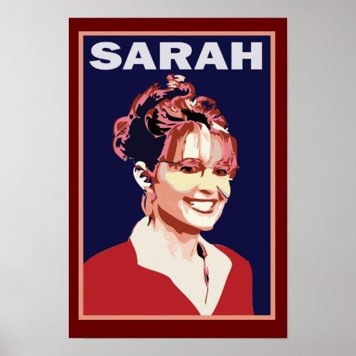 Sarah Palin - 2012 President Poster