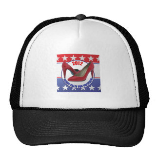 Sarah Palin 2012 - Presidential Candidate Mesh Hat