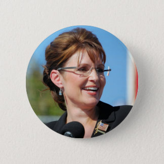 Sarah Palin 6 Cm Round Badge