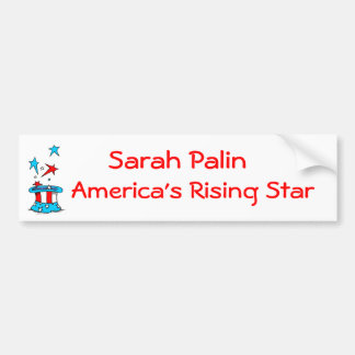 Sarah Palin America s Rising Star Bumper Sticker