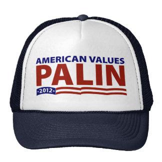 Sarah Palin American Values Mesh Hat