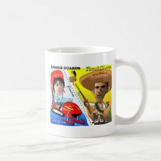 Sarah Palin and Obama Border Patrol Coffee Mug