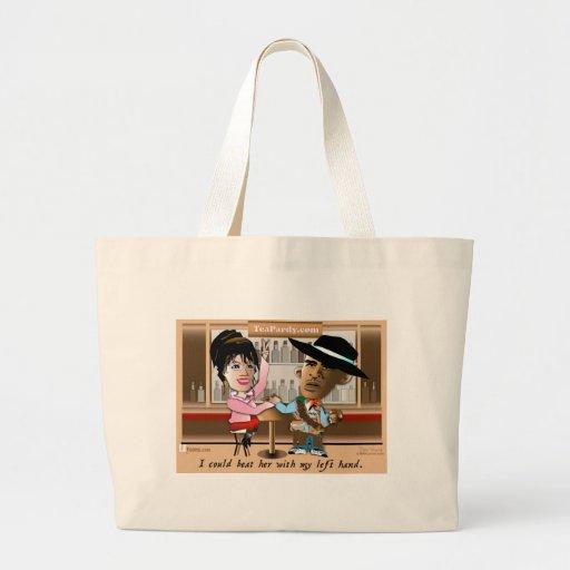 Sarah Palin and Obama Mano a Mano Bag