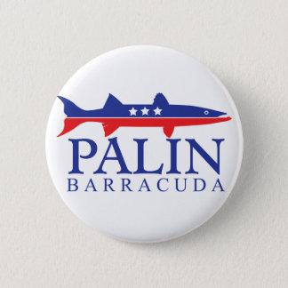 Sarah Palin Barracuda 6 Cm Round Badge