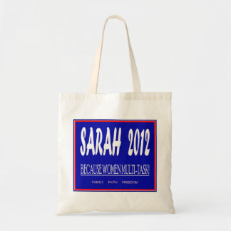 Sarah Palin Budget Tote Bag