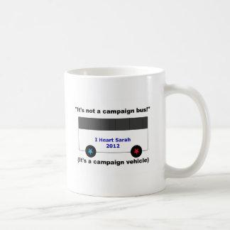 Sarah Palin Campaign Coffee Cup Basic White Mug