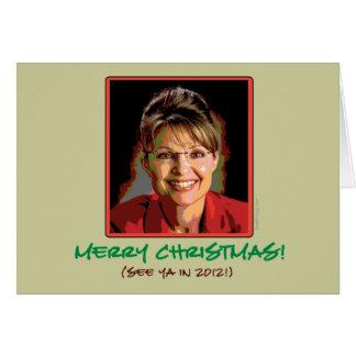 Sarah Palin Christmas Card (Mod)