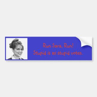Sarah_Palin_Clip_Art__500px__Copyright___2008_T... Bumper Sticker