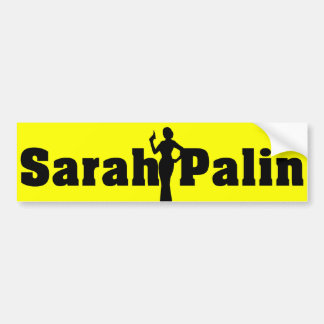 Sarah Palin Custom Color Bumper Sticker