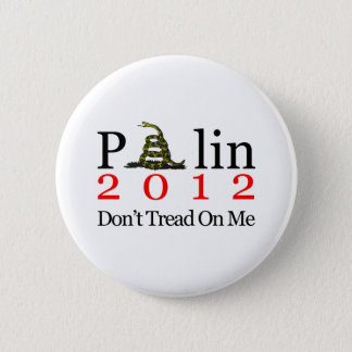 Sarah Palin Don't Tread On Me 6 Cm Round Badge