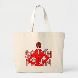 Sarah Palin Fashion Style Doodle Art Bag