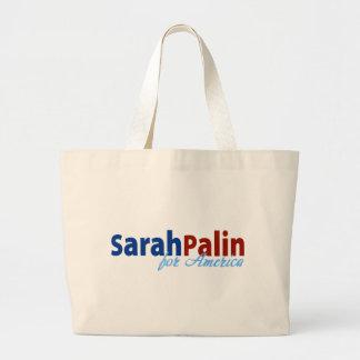 Sarah Palin for America Jumbo Tote Bag