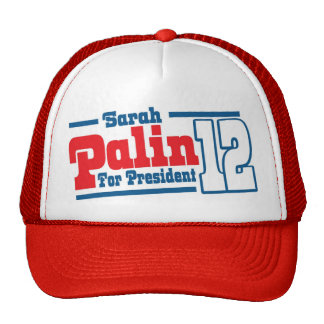 Sarah Palin For President 12 Tea Party America Hat