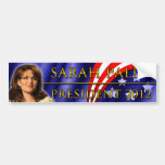 Sarah Palin for President 2012 Bumper Stickers