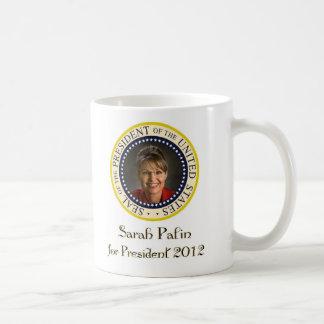 Sarah Palin for President 2012 Coffee Mugs