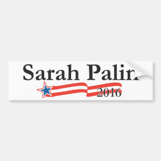Sarah Palin for President 2016 Bumper Sticker