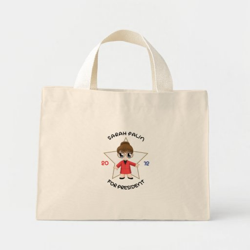 Sarah Palin For President Canvas Bag