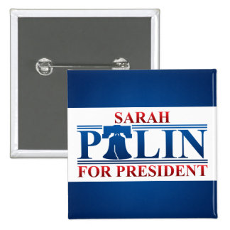 Sarah Palin for President Button