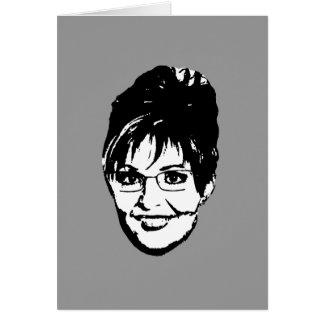 Sarah Palin for President Greeting Card