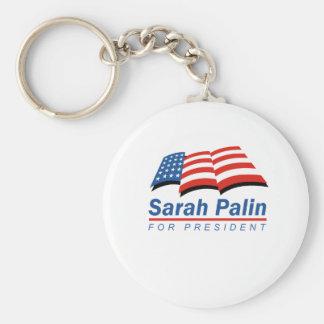 Sarah Palin for President Key Chain
