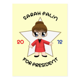 Sarah Palin For President Postcard