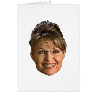 sarah palin head card