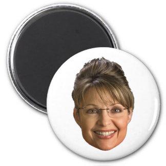 sarah palin head magnet