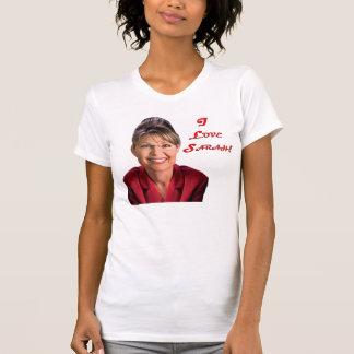 Sarah Palin - I Love Sarah! Tee Shirts