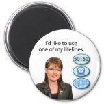 Sarah Palin: I'd like to use one of my lifelines Magnet