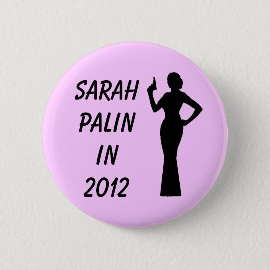 Sarah Palin in 2012 Pink Button