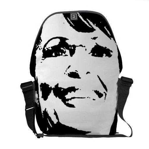 SARAH PALIN INK ART COMMUTER BAG