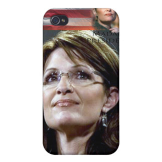 Sarah Palin Iphone case hard shell cover Case For iPhone 4