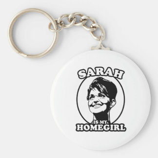 Sarah Palin is my homegirl Key Chains
