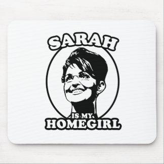 Sarah Palin is my homegirl Mouse Pads