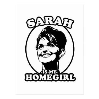 Sarah Palin is my homegirl Postcard