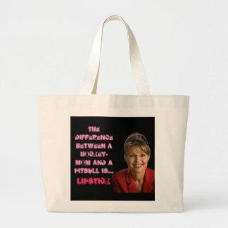 Sarah Palin Jumbo Tote Bag