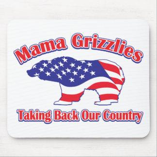 Sarah Palin Mama Grizzlies Mouse Pads