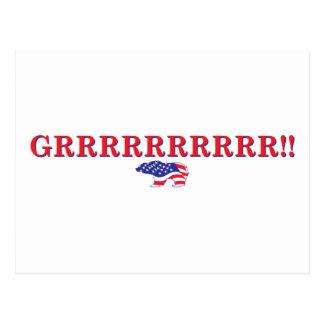 Sarah Palin Mama Grizzlies Postcard