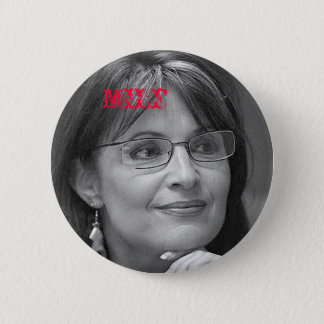 Sarah Palin MILF 6 Cm Round Badge