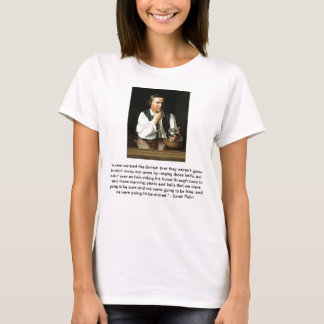 Sarah Palin on Paul Revere T-Shirt