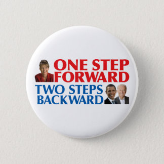 Sarah Palin One Step Forward Pins