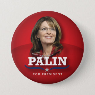 Sarah Palin Photo Button