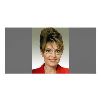 Sarah Palin Custom Photo Card