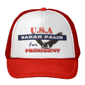 Sarah Palin president 2012 CUSTOMIZE Cap