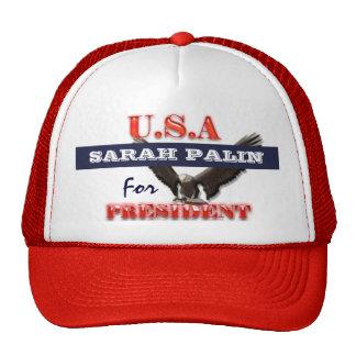 Sarah Palin president 2012 CUSTOMIZE Mesh Hats