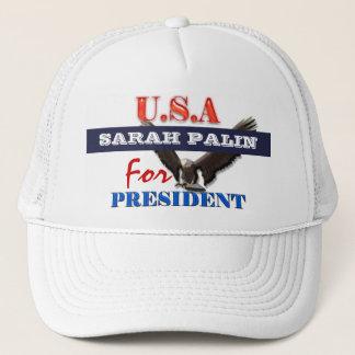 Sarah Palin president 2012 CUSTOMIZE Trucker Hat