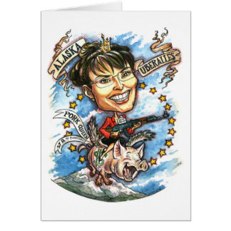 Sarah Palin, Queen of Pork Card