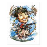 Sarah Palin, Queen of Pork Post Card