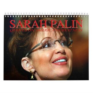Sarah Palin Quotes Wall Calendar