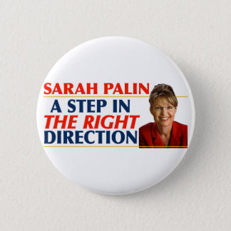 Sarah Palin Right Direction Buttons